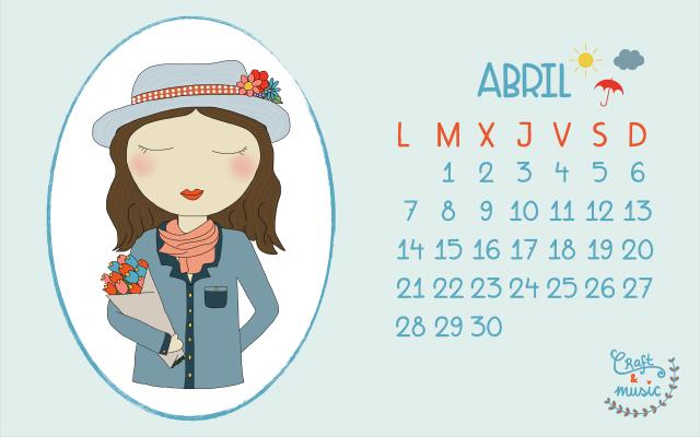 Calendario abril craft&music