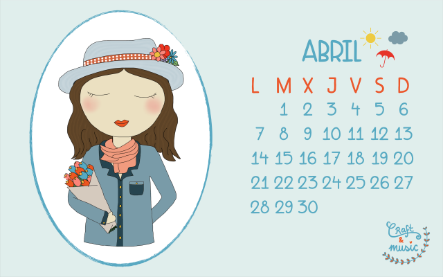 Calendario abril craft&music