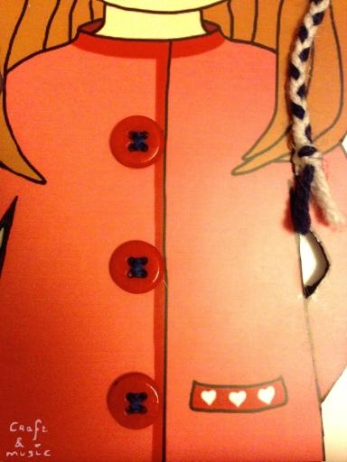 Ilustración texturas - niña gorro detalles 4