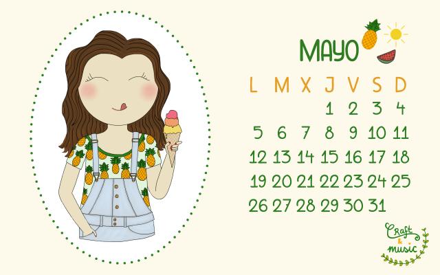 Calendario mayo craft&music