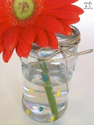 tarros de cristal decoración DIY florero detalles 2