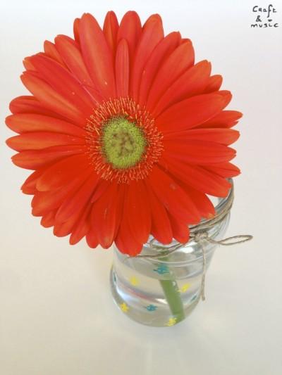 tarros de cristal decoración DIY florero 2