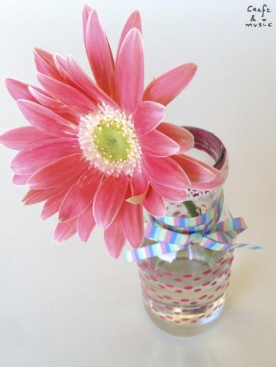 tarros de cristal decoración DIY florero 1