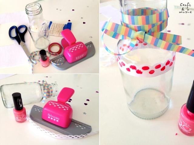 tarros de cristal decoración DIY proceso 1