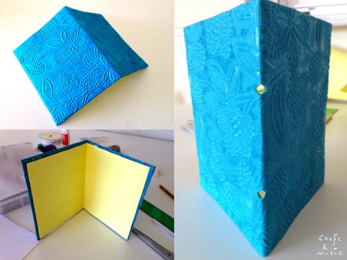 tutorial libreta encuadernación DIY proceso 2
