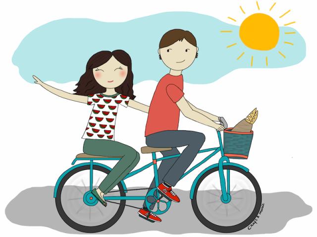 Viernes en bicicleta