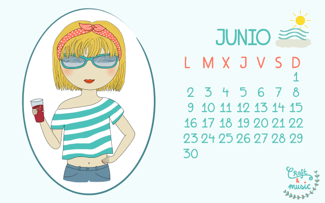 Calendario junio craft&music