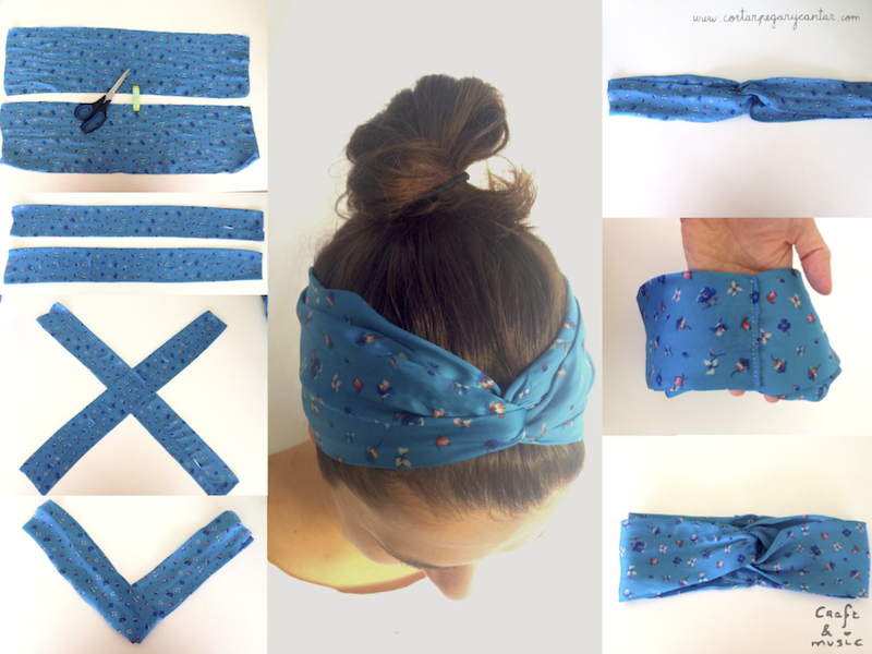 How To Make Your Own Headband The Easiest Step By Step