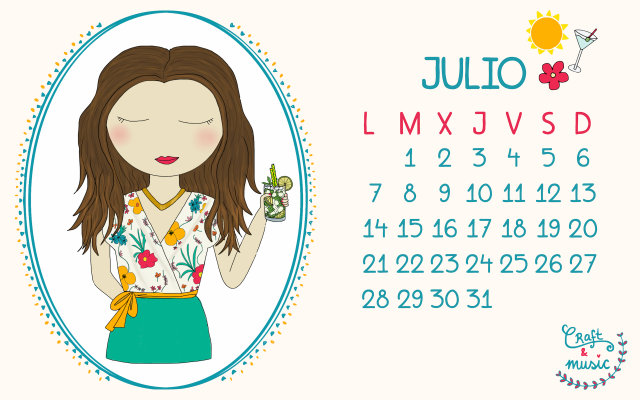 Calendarios julio craft&music