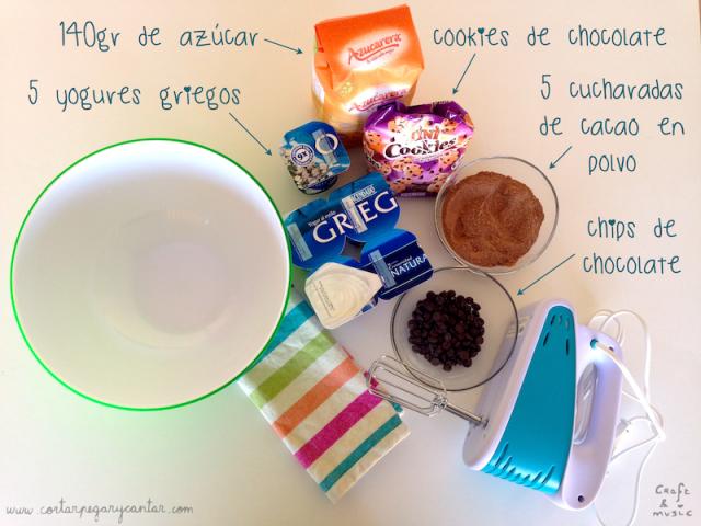 Helado casero ingredientes