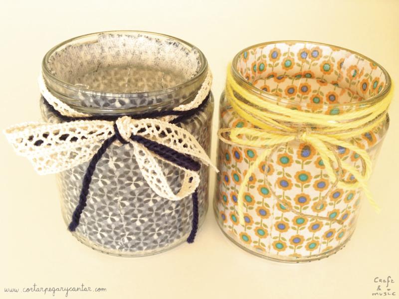 tarros de cristal decorados resultado