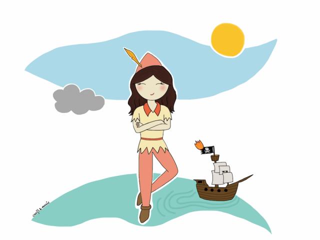 Peter Pan y los piratas