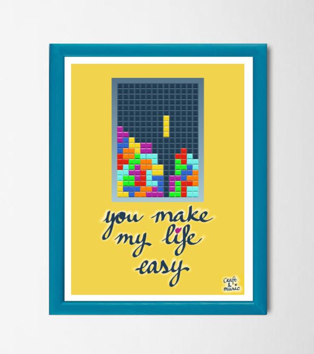 Lámina Tetris