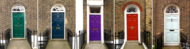 Puertas de colores (Londres)