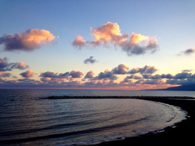 nubes-atardecer-playa