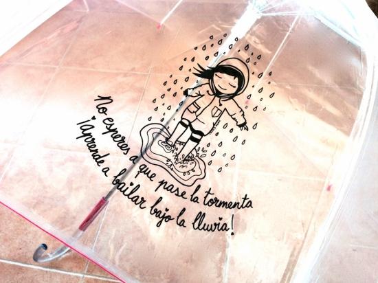 Paraguas Esyumi- aprende a bailar bajo la lluvia