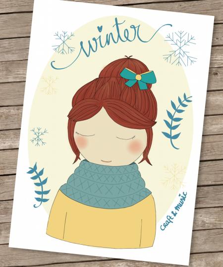invierno-postal