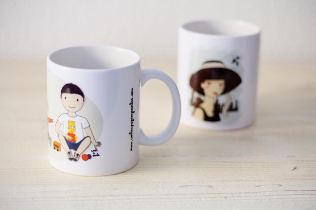 tazas hermanos y Audrey 3