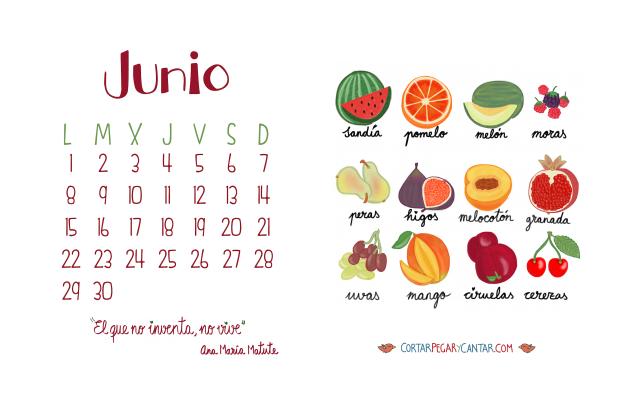Calendario junio 2015 craft&music